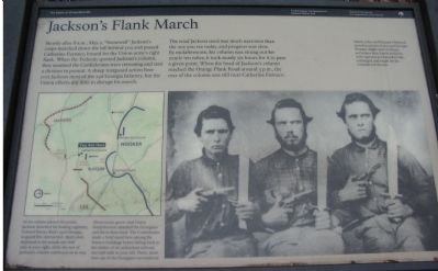 Jackson's Flank March Marker image. Click for full size.