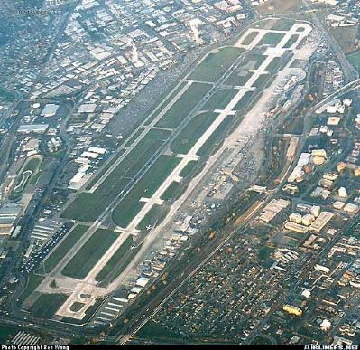 San Jose International Airport image. Click for full size.