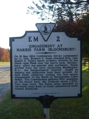 Engagement at Harris Farm (Bloomsbury) Marker image. Click for full size.