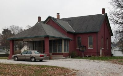 Parke County Museum and Marker Photo, Click for full size