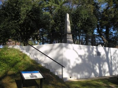 Civil War Trails Marker and Stuart Monument Photo, Click for full size