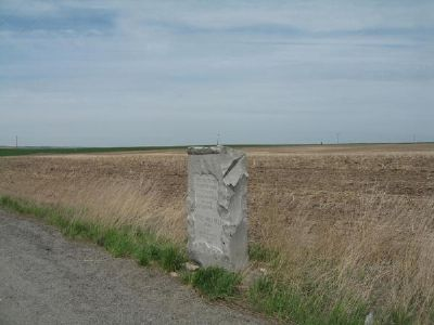 Colville - Walla Walla Road Marker Photo, Click for full size