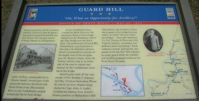 Guard Hill Marker Photo, Click for full size