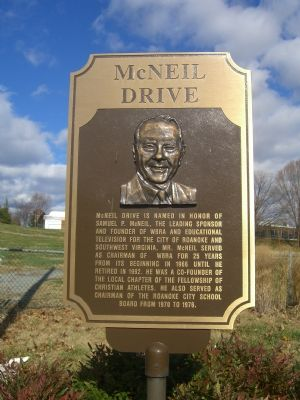 McNeil Drive Marker image. Click for full size.