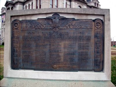 Honor Roll - Defenders of Freedom Marker Photo, Click for full size