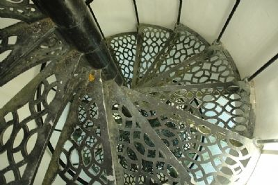 The Tower Steps in Great Point Light image. Click for full size.