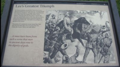Lee's Greatest Triumph Marker image. Click for full size.