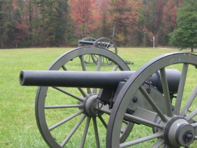 Cannon at Chancellorsville Inn image. Click for full size.