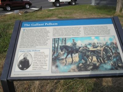 John Pelham marker Photo, Click for full size