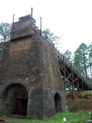 Nassawango Iron Furnace Photo, Click for full size