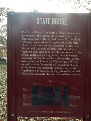 State House Marker image. Click for full size.