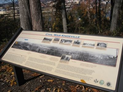 Civil War Knoxville Marker image. Click for full size.