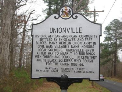 Unionville Marker image. Click for full size.