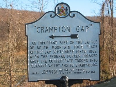 """Crampton Gap"" Marker image. Click for full size."