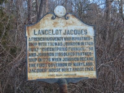 Lancelot Jacques Marker image. Click for full size.