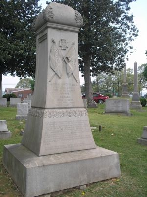 Grave of Gen. James Dearing image. Click for full size.