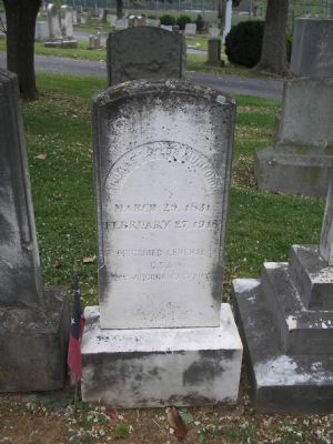 Grave of Gen. Thomas T. Munford image. Click for full size.