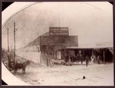 Camden & Amboy Railroad Station, Trenton, NJ image. Click for full size.