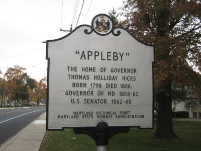 """Appleby"" Marker Photo, Click for full size"