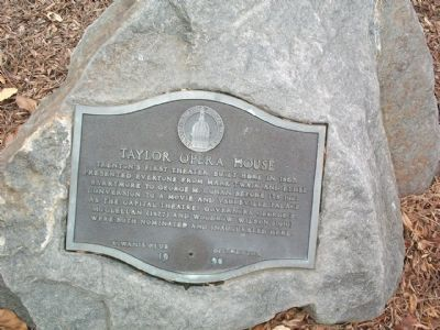 Taylor Opera House Marker Photo, Click for full size