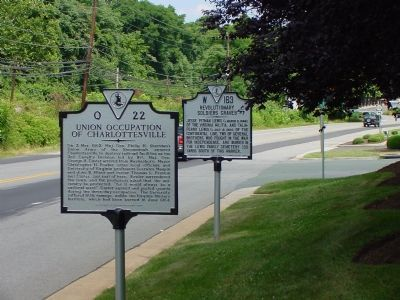 Civil War and Revolutionary War Markers image. Click for full size.