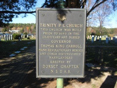 Trinity P.E. Church Marker Photo, Click for full size