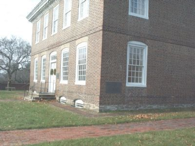 William Trent House with two other markers image. Click for full size.