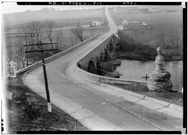 The Jug Bridge in 1933 image. Click for full size.