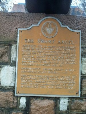 The Swamp Angel Marker image. Click for full size.