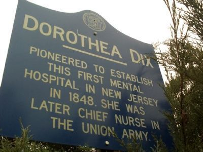 Dorothea Dix Marker image. Click for full size.