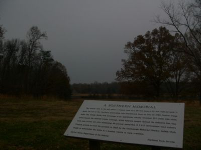 A Southern Memorial Marker image. Click for full size.