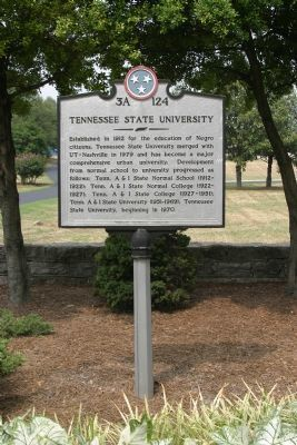 Tennessee State University - Front image. Click for full size.