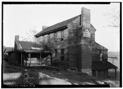"Historical Photograph - West View of ""Chisholm Tavern"" image. Click for more information."