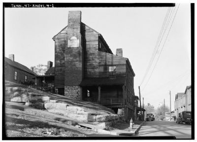 Historical Photograph - Southwest View of Chisholm Tavern image. Click for more information.