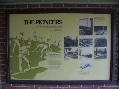 The Pioneers Marker image. Click for full size.