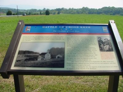 Battle of Cross Keys Marker Photo, Click for full size