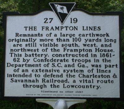 Frampton Lines Marker Photo, Click for full size