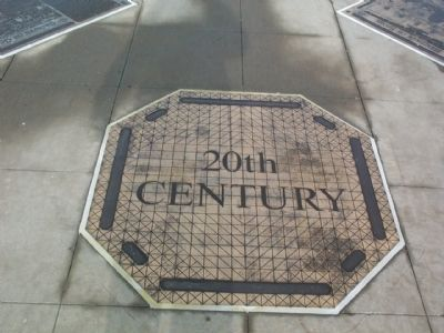 20th Century (and later) Trenton Timeline Marker image. Click for full size.