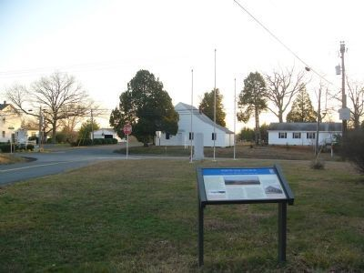 White Oak Church and Marker image. Click for full size.