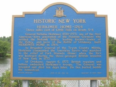Historic New York Herkimer Home - 1764 image. Click for full size.