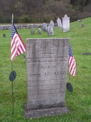 The Grave of General Herkimer image. Click for full size.
