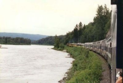 Alaskan Train Ride Photo, Click for full size