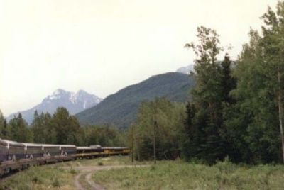 Alaskan Train Photo, Click for full size
