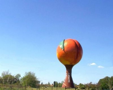 Nearby ,The Famous Peachoid of Gaffney image. Click for full size.