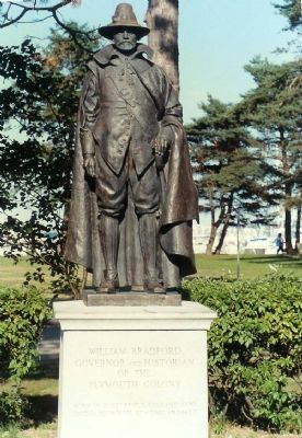 William Bradford Monument image. Click for full size.