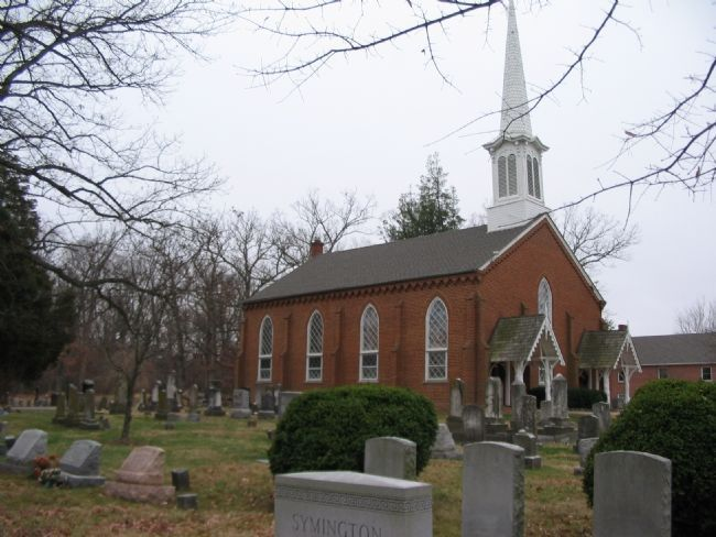 Greenwich Presbyterian Church image. Click for full size.