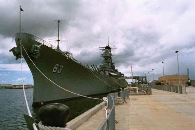 BB 63 USS Missouri image. Click for full size.