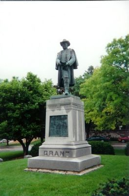 Gen. US Grant Statue is nearby Photo, Click for full size