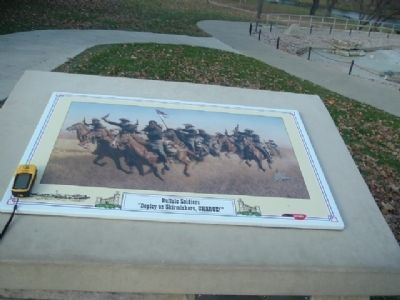 The Buffalo Soldier Monument Marker Photo, Click for full size