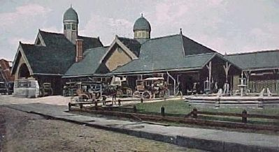 Schenectady Passenger Station Photo, Click for full size